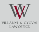 The opening page of the Villányi and Gyovai Law Office